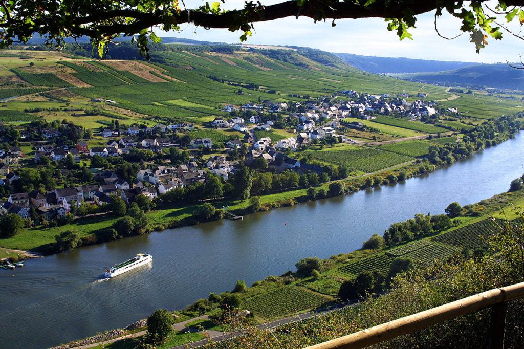 Ortsansicht Brauneberg
